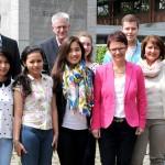 Austauschstudenten in Bocholt