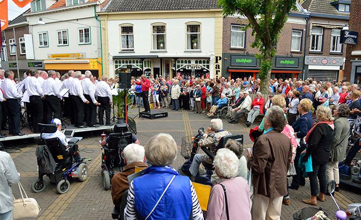 Korenfestival binnenstad Doetinchem