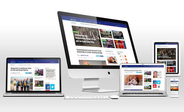 Nieuwe website dplnieuws 2015