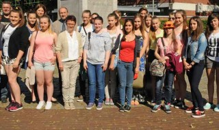Polnische Schülergruppe