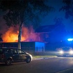 Grote schuurbrand Ruiterij Dinxperlo