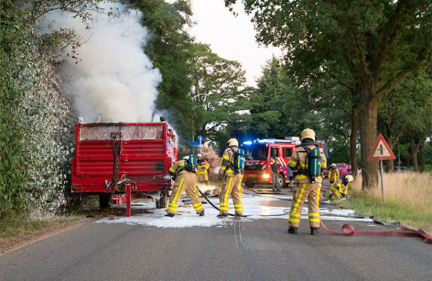 Brandweer Dinxperlo blust voerwagen