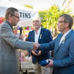 Leen Nederlof en Hans Veerbeek koninklijk Onderscheiden