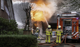 Brand Werkplaats De Heurne