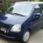 Opel Agila gestolen