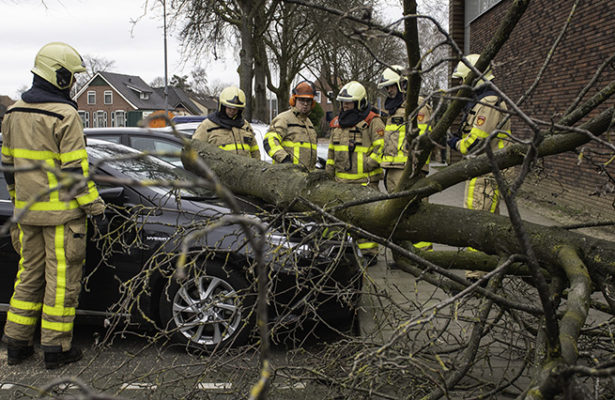 Stormschade door Ciara