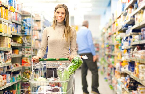Supermarkten Shopping