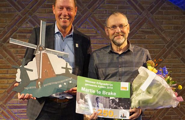 Erfgoedprijs 2019 - Martie te Brake