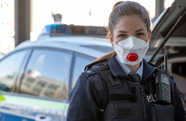 Schutzmaske Polizei