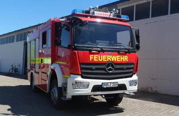 Hilfeleistungslöschgruppenfahrzeug Suderwick