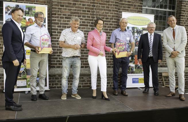 Kai Zwicker, Werner Brand, Freek Diersen, Ina Scharrenbach, Johannes Hoven, Peter Nebelo, Anton Stapelkamp