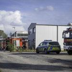 Brand opslaghal Johannes-Meis-Straße