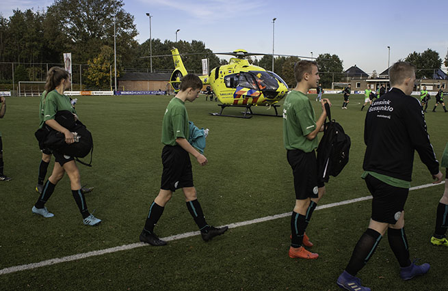 Traumahelikopter FC Dinxperlo