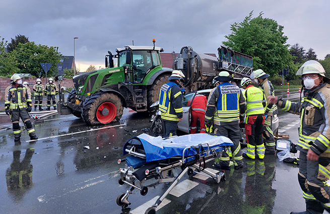 Unfall Dinxperloer Straße