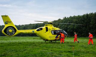 Traumahelikopter LifeLiner3 Lage Heurnseweg