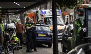 Ongeval fietser Hogestraat Willem van Oranjeplein